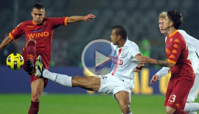 """La """"Juve"""" igualó en casa con la Roma"""