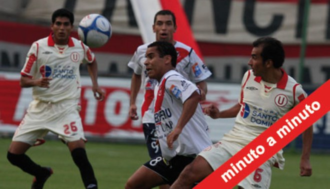 Minuto a Minuto: José Gálvez 0-1 Universitario