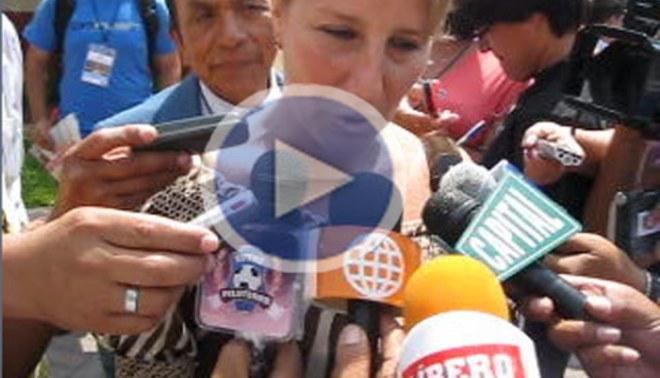 """Karla Bozzo: """"Estamos muy contentos con la elección de Manuel Burga"""""""