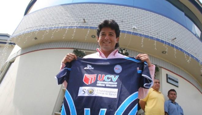 Víctor Rivera fue presentado como DT del César Vallejo