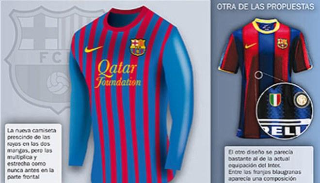 ¿Te gustaría que esta sea la nueva camiseta del Barcelona  c42088df38965