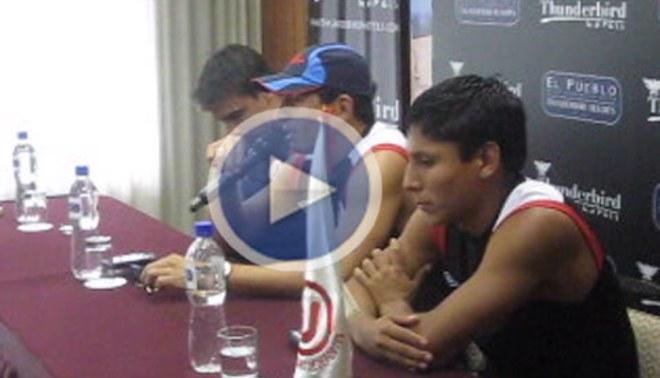"""LÍBERO te muestra la conferencia completa de los jugadores de la """"U"""""""