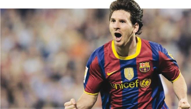 Messi es de otro mundo