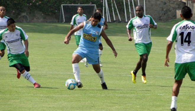 Sporting Cristal derrotó a Agremiados en partido de práctica