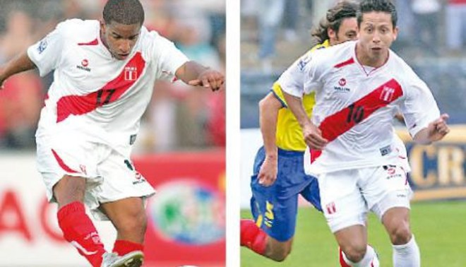 Jefferson Farfán y Roberto Merino son fijos para la Copa Kirín