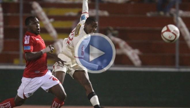 Andy Polo anotó su primer gol con Universitario y demostró pasta de 'crack'