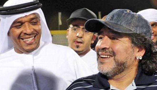Maradona: Salí a la calle a buscar trabajo y lo encontré en Dubai