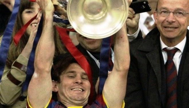 Messi es el preferido de Di Stéfano