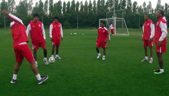 La selección peruana ya está en Nagano para enfrentar a la República Checa