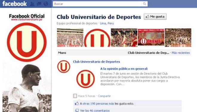 Paso al costado: La junta directiva de Universitario renunció