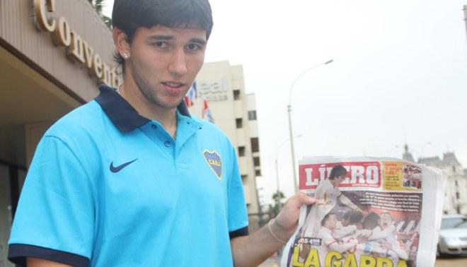 Carta de gol de Boca: Sergio Unrein es tan bueno como Martín Palermo