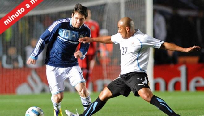 Minuto a Minuto: Argentina 1-1 Uruguay