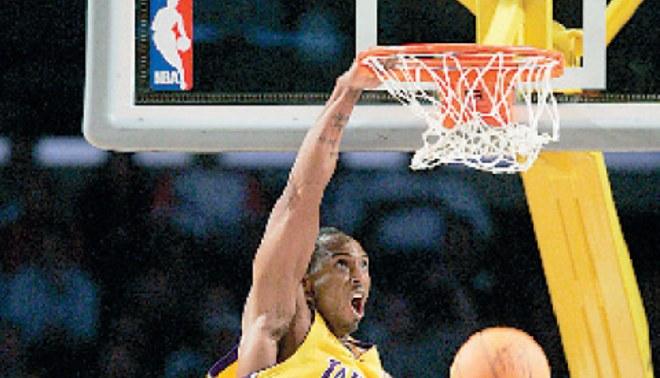 Kobe chapa 18 palos para jugar en China