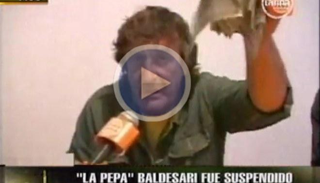 Suspenden a la 'Pepa' Baldessari por protagonizar bochornoso incidente