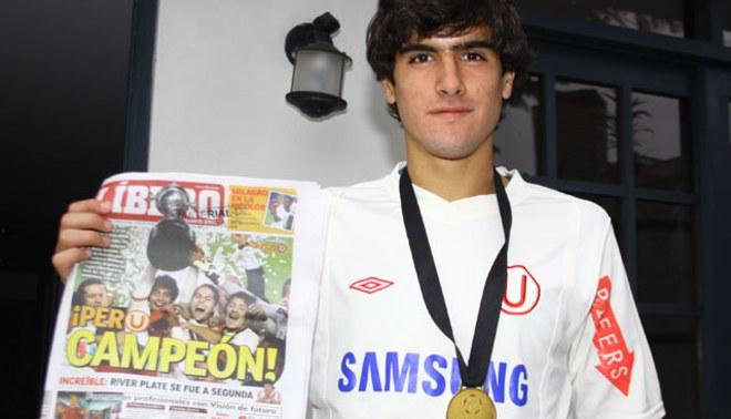 Álvaro Ampuero: Me estoy acostumbrando a marcar goles bonitos