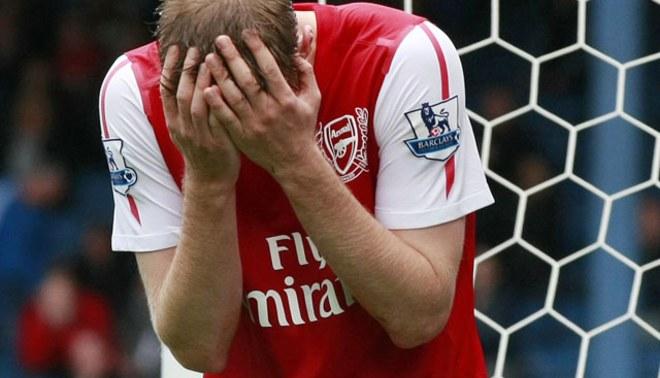 Sigue abajo: Arsenal perdió ante Blackburn y sigue como colero