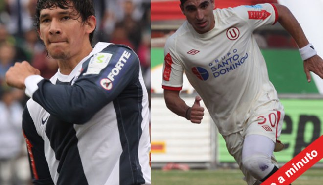 Minuto a Minuto: Universitario 2-1 Alianza Lima