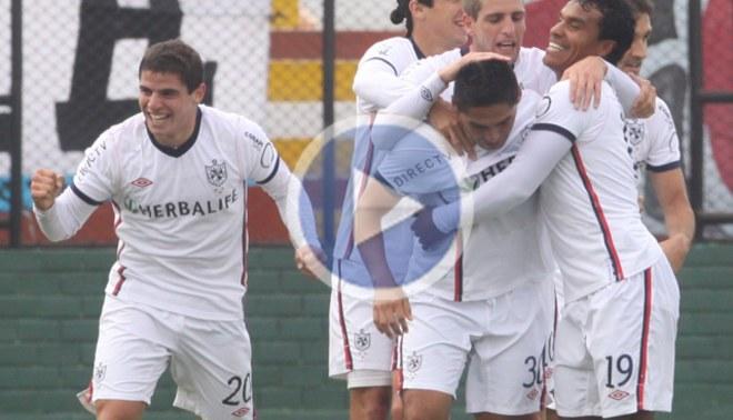 Muy cerca de una copa: San Martín derrotó 1-0 a Melgar en Arequipa