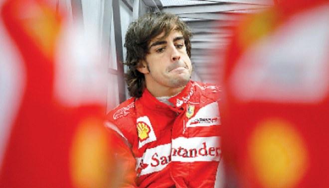 "Alonso: ""Me rindo chicos, me rindo"""