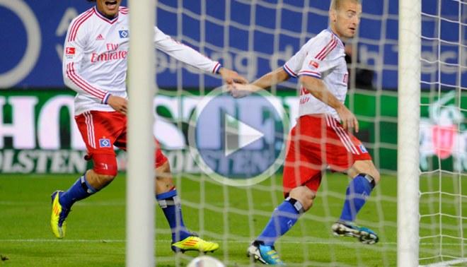 Con el 'Depredador' Guerrero, Hamburgo eliminó al Eintracht en la Copa de Alemania