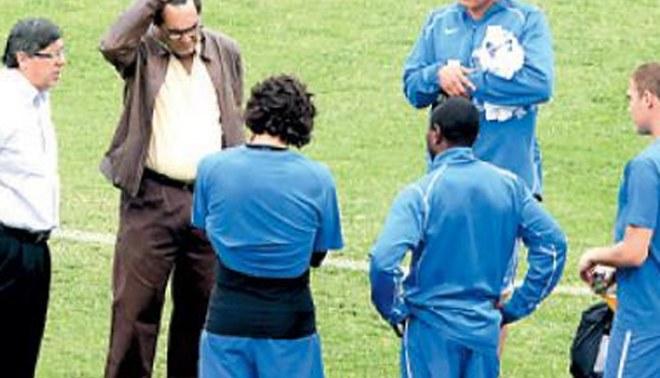 Jugadores de Alianza Lima encararon a Guillermo Alarcón por las deudas