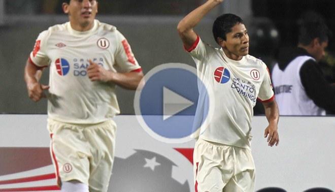 VIDEO: Raúl Ruidíaz marcó el 1-1 en Brasil