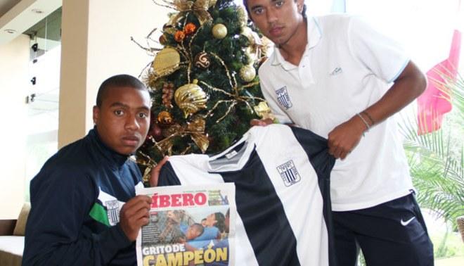 Jorge Bazán y Joazinho Arroé prometen regalar el título a hinchas por Navidad