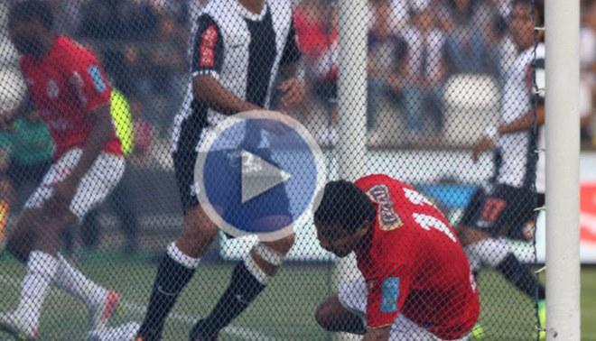 Video: Así fue el gol de Juan Aurich que silenció Matute