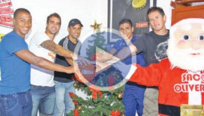 Golazo de Navidad: LIBERO se juntó con los 'Mejores del 2011'