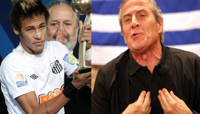 Neymar y Óscar Washington Tabárez fueron reconocidos como lo mejor de América en el 2011