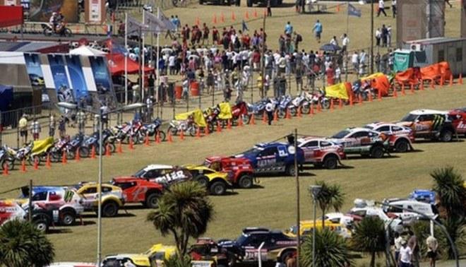 Hoy es la partida simbólica del Rally Dakar 2012