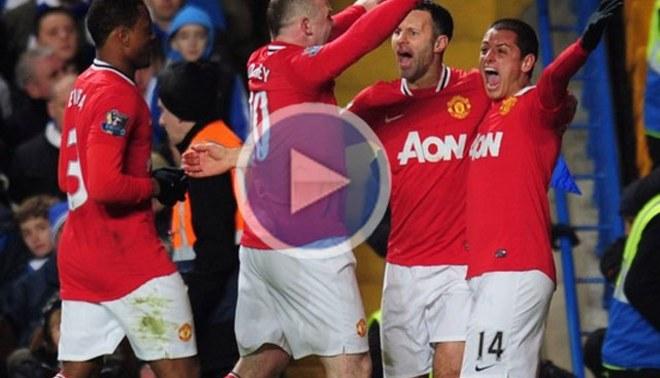 ¡Partidazo!: Tras ir perdiendo 3-0, Manchester United igualó con Chelsea
