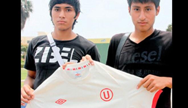 Sangre fresca: Juveniles Frank Carranza y Óscar Reyes firmaron contrato con Universitario