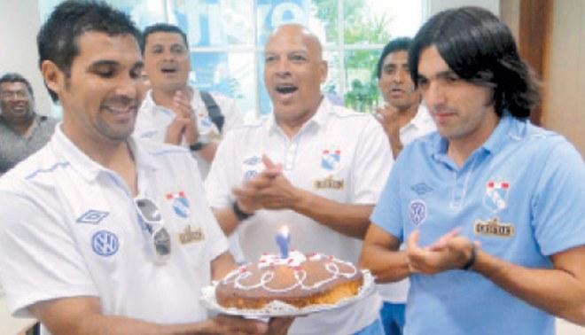 La torta celeste