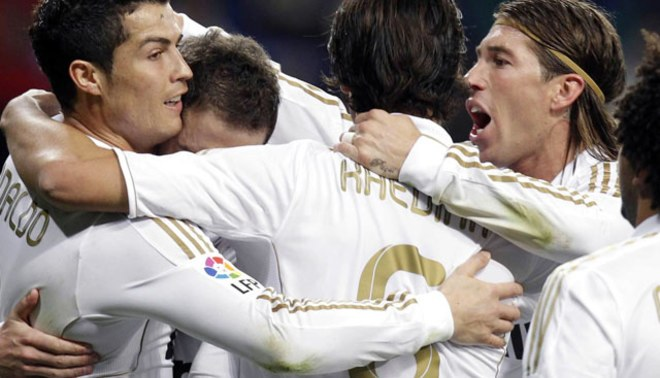 """Sigue """"punteando"""" lejos: Madrid aplastó 5 a 0 al Espanyol"""