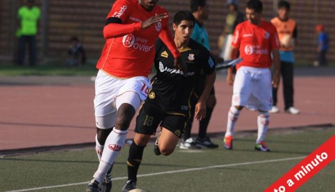 Minuto a Minuto: Juan Aurich 1-2 Cobresol