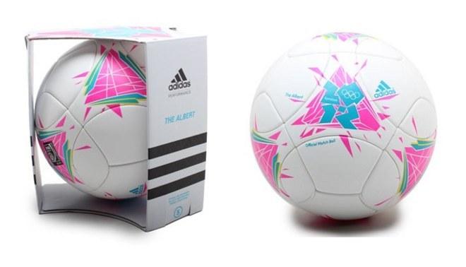 Adidas presentó el balón oficial de las Olimpiadas Londres 2012