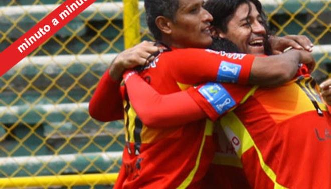 Minuto a Minuto: Sport Huancayo 1-2 Sport Boys