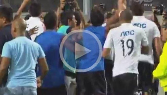 [VIDEO] Mira el festejo de los jugadores de Alianza Lima con la  hinchada
