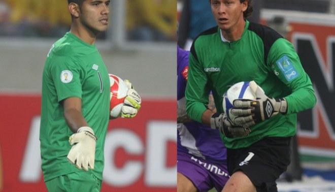 El arco del triunfo: Fernández atajará ante Colombia y Penny lo hará frente a Nigeria