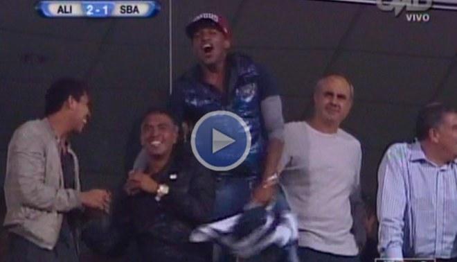 [VIDEO] Mira el festejo de Jefferson Farfán por el segundo gol de Alianza Lima