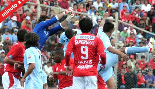 Minuto a Minuto: Cienciano 2-0 Real Garcilaso