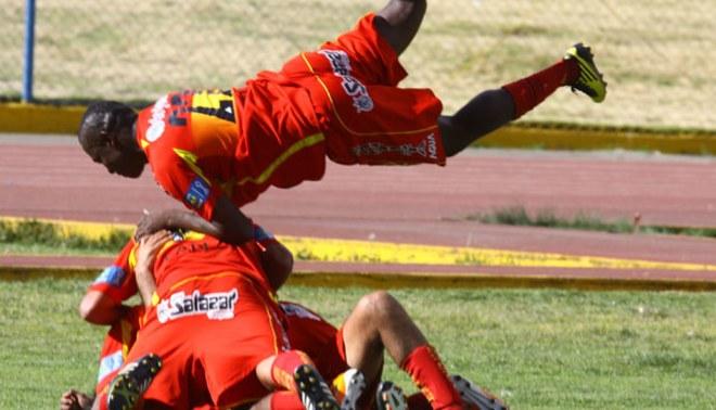 'Bam bam' ganando: Sport Huancayo venció 2-1 a Unión Comercio