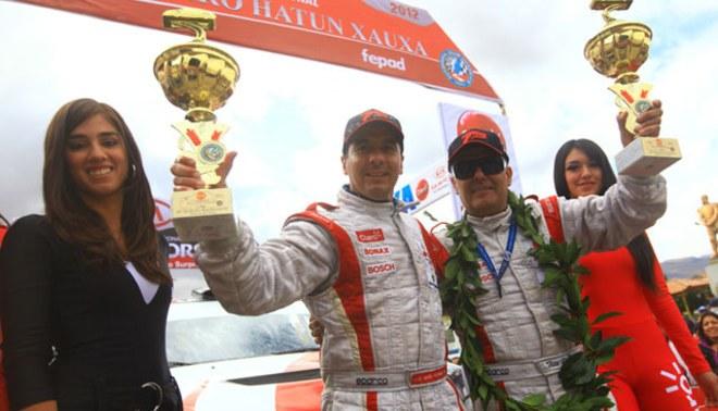 Se lo llevó: Roberto Pardo campeón el Rally Xauxa