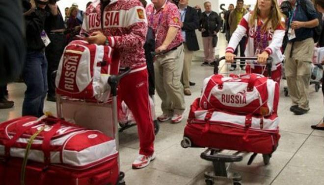 Ya están en Londres: Llegaron los primeros atletas a la Villa Olímpica