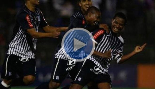 Alianza Lima igualó 1 a 1 con Inti Gas con goles de tiro libre [VIDEO]