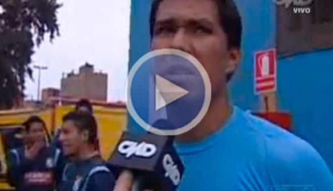 Walter Vílchez: Tenemos que seguir mostrando humildad y jugar los partidos como si fueran los últimos [VIDEO]