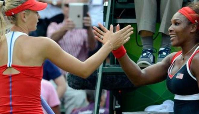 Revive la 'paliza' que le dio Serena Williams a María Sharapova en la final de tenis de Londres 2012 [FOTOS]