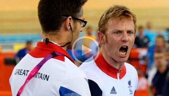 Británico causa alboroto luego de ser descalificado de los Juegos Paralímpicos [VIDEO]