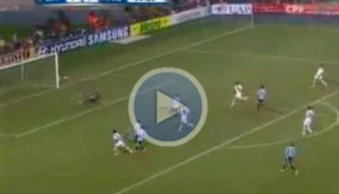 Luis Ramírez pudo poner el 2-1, pero el palo se lo negó [VIDEO]